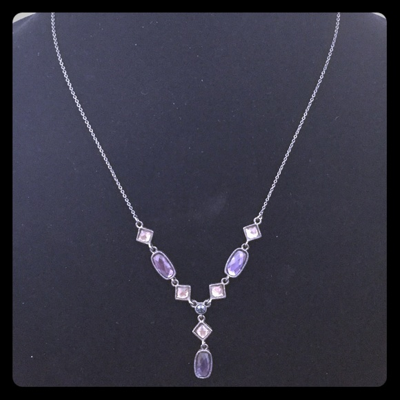 Jewelry - Necklace With Blue Stones